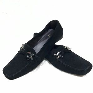 NWT Stuart Weitzman Lincoln Suede Loafer 8N
